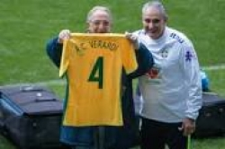 Na homenagem a Verardi, Tite reverencia aqueles que dedicam a vida ao esporte
