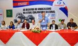 """Seminário """"Os Desafios do Sindicalismo na Atual Conjuntura Nacional"""""""