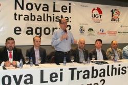 UGT-Paraná promove seminário sobre nova Lei Trabalhista