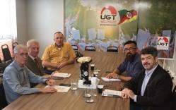 Candidato ao governo gaúcho, Hermes Zaneti apresenta propósitos para a UGT-RS