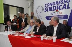 """UGT e Centrais apresentam a """"Agenda Prioritária"""" ao pré-candidato Ciro Gomes"""